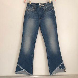 FRAME Denim Le Crop Mini Boot Jeans 27